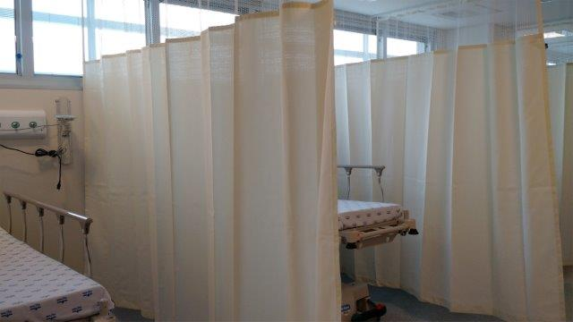 Cortinas para quarto de hospital