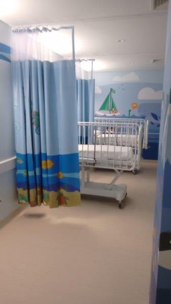 Cortinas de uso hospital
